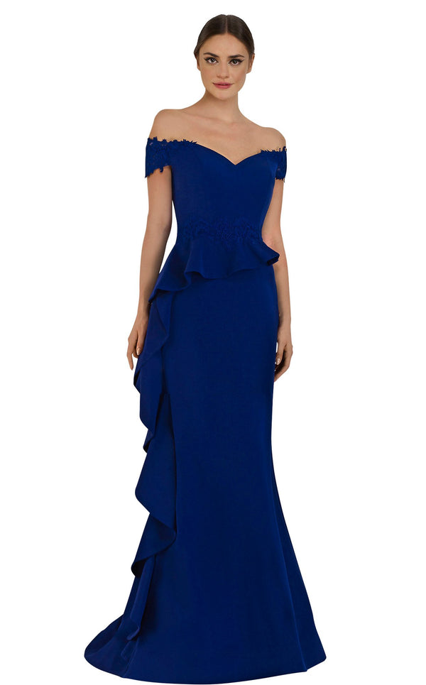 Janique 1945 Dress Cobalt