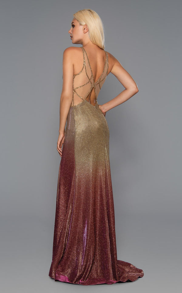 Stella Couture 20100 Dress Gold
