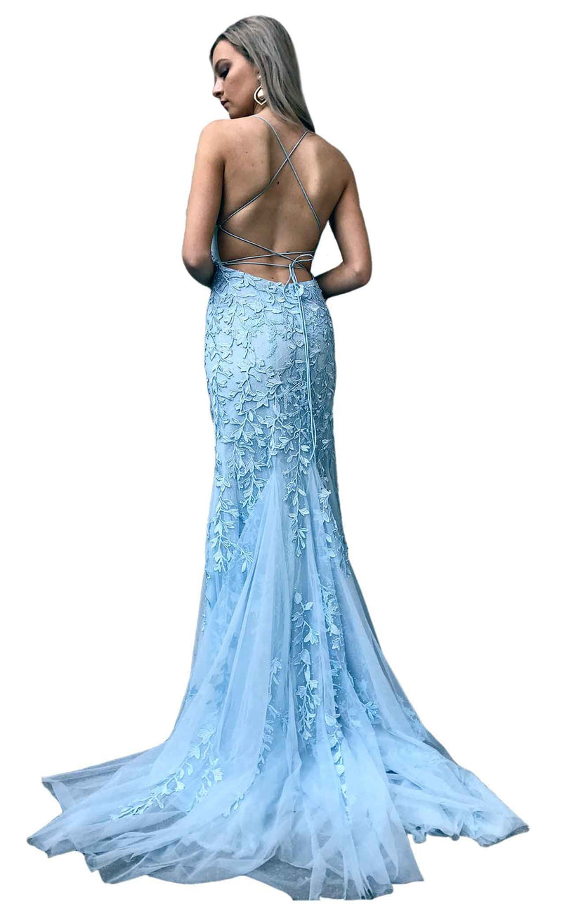 Amarra 20109 Dress Light-Blue