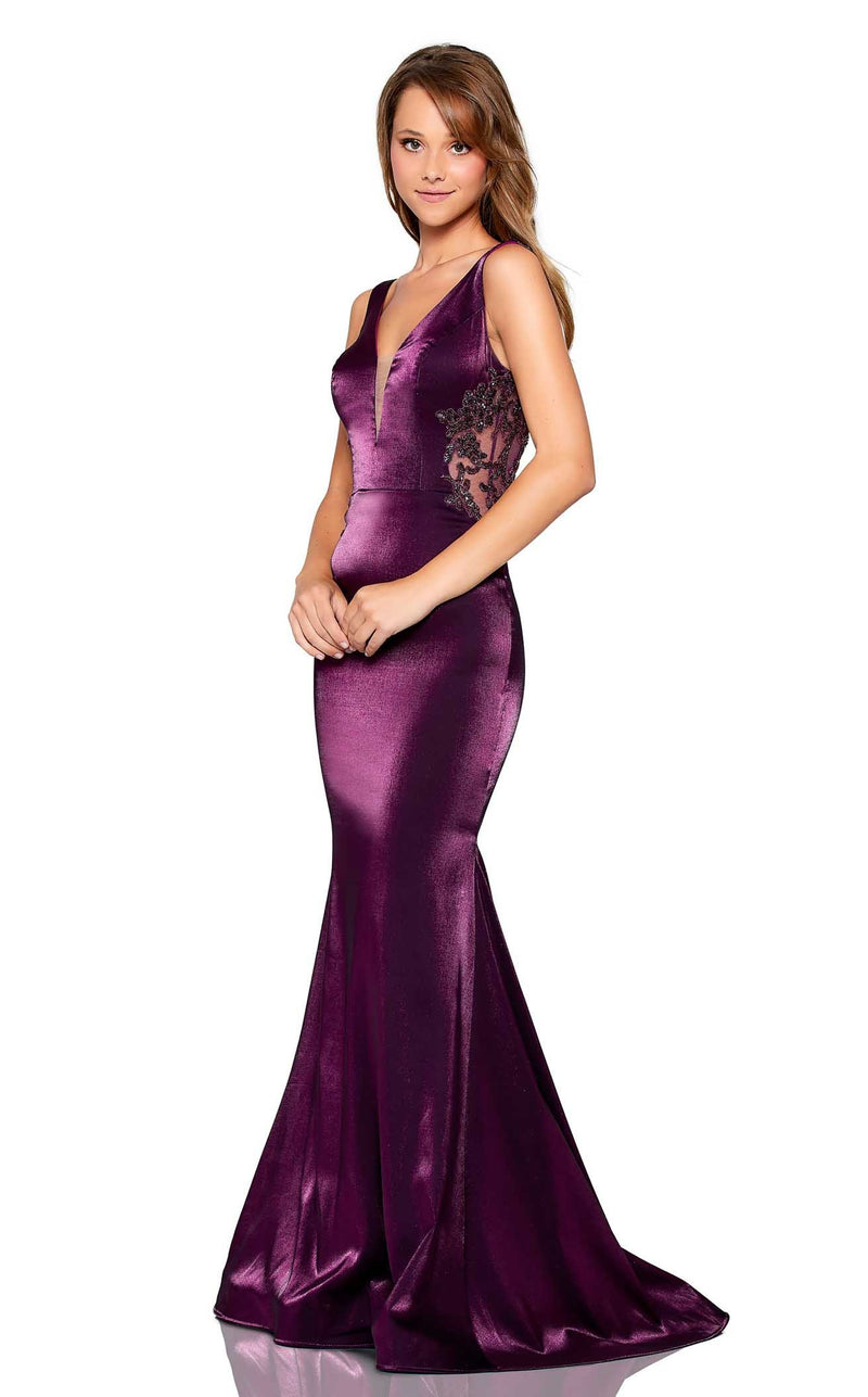 Amarra 20146 Dress Purple