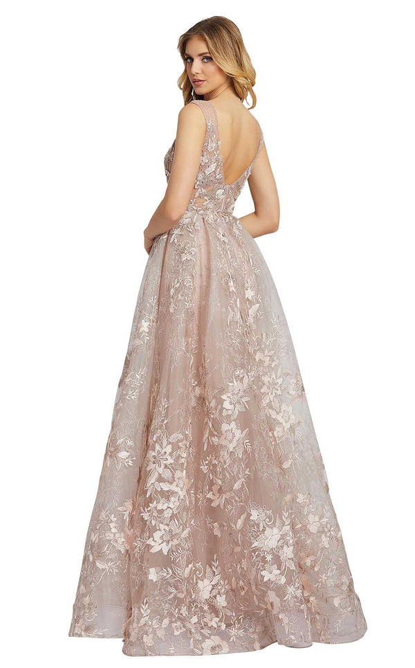 Mac Duggal 20153D Dusty-Rose