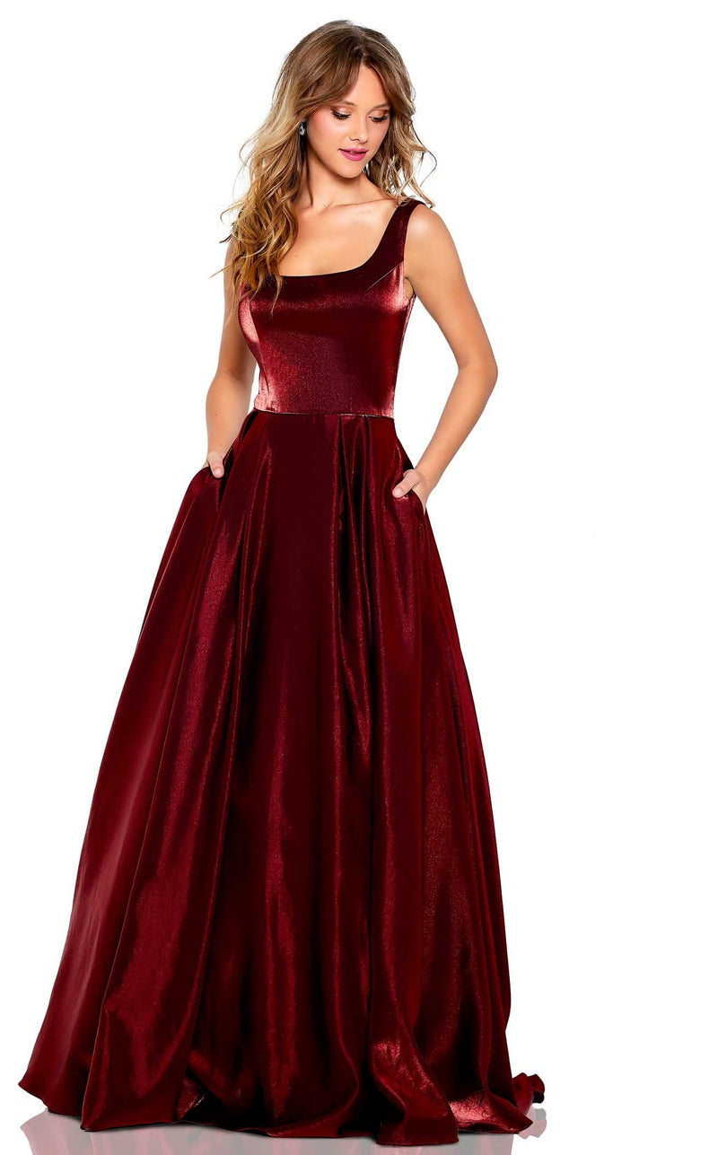 Amarra 20222 Dress Electric-Wine