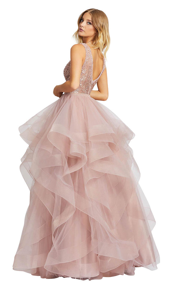 Mac Duggal 20223M Dusty-Pink