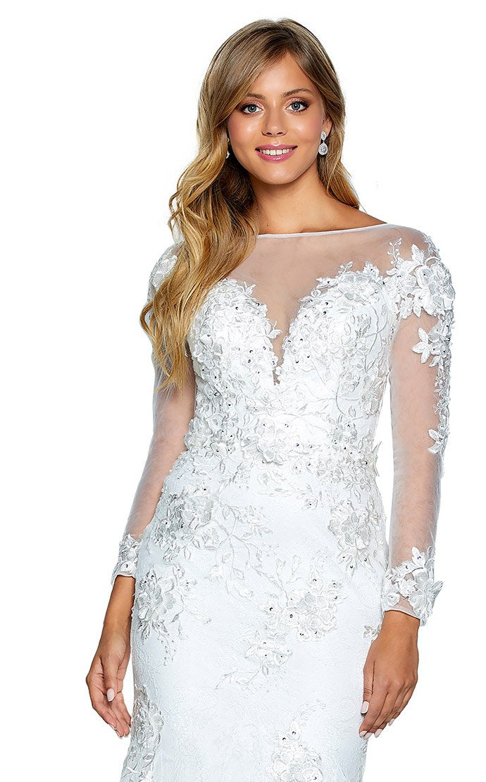 Amarra 20253 Dress Diamond-White