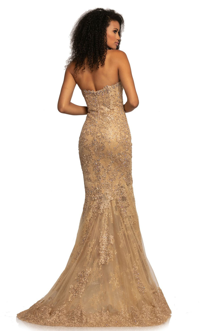 Johnathan Kayne 2032 Dress Gold