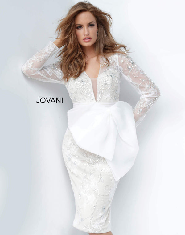 Jovani 2033 Off White