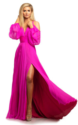 Johnathan Kayne 2038 Dress Fuchsia