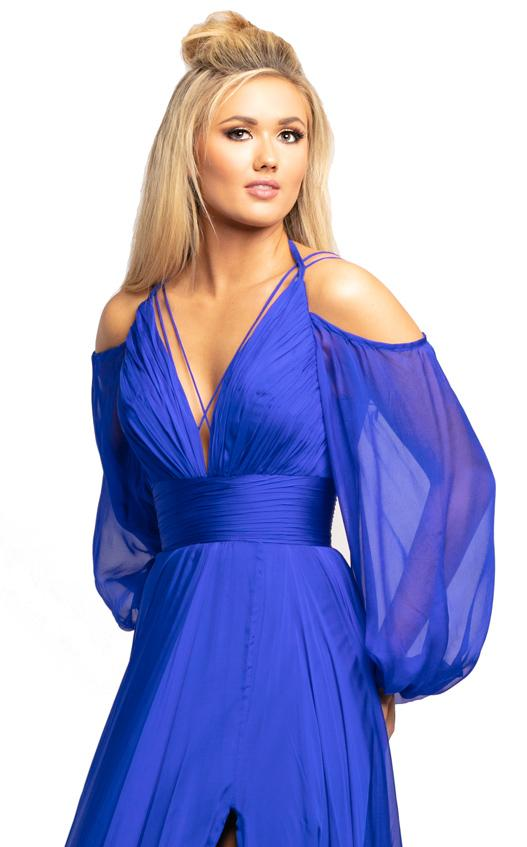 Johnathan Kayne 2038 Dress Royal