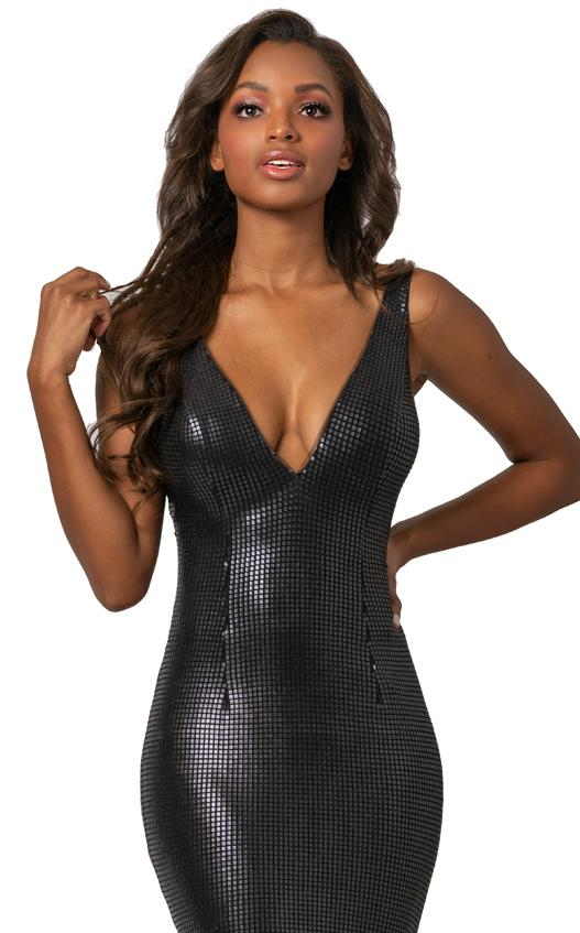 Johnathan Kayne 2044 Dress Matte-Black
