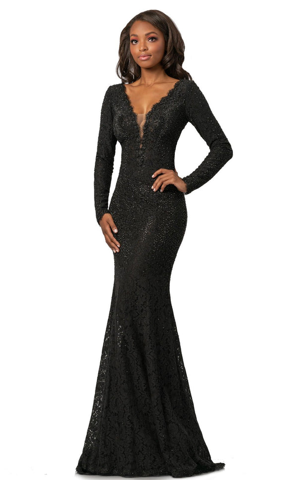 Johnathan Kayne 2053 Dress Black