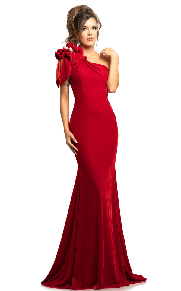 Johnathan Kayne 2055 Dress Red
