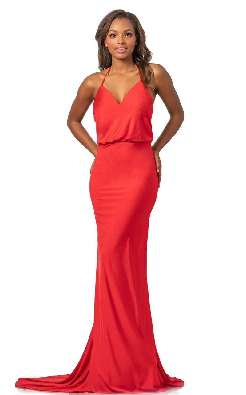Johnathan Kayne 2059 Dress Red
