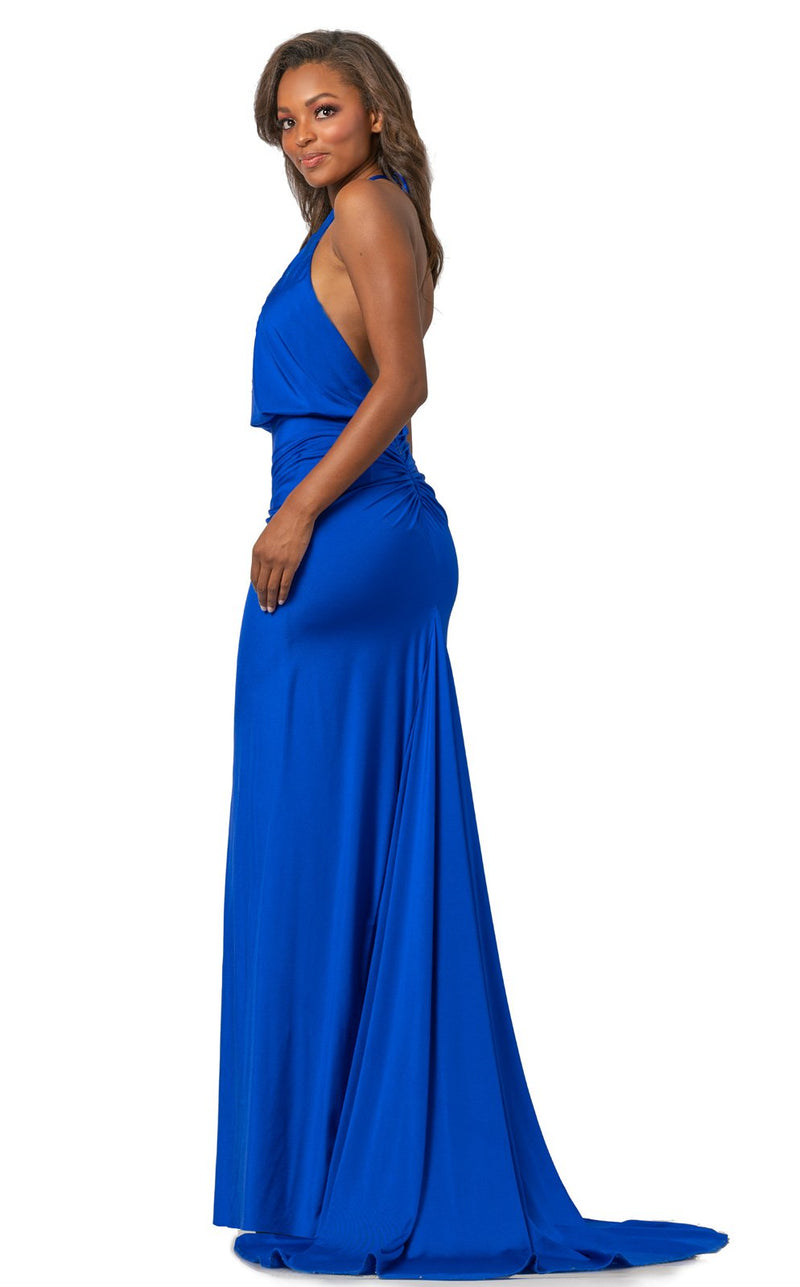 Johnathan Kayne 2059 Dress Royal