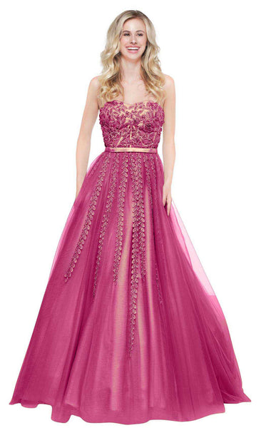 Colors Dress 2065 Berry-Nude