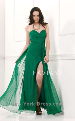 Faviana 6428 Forest Green