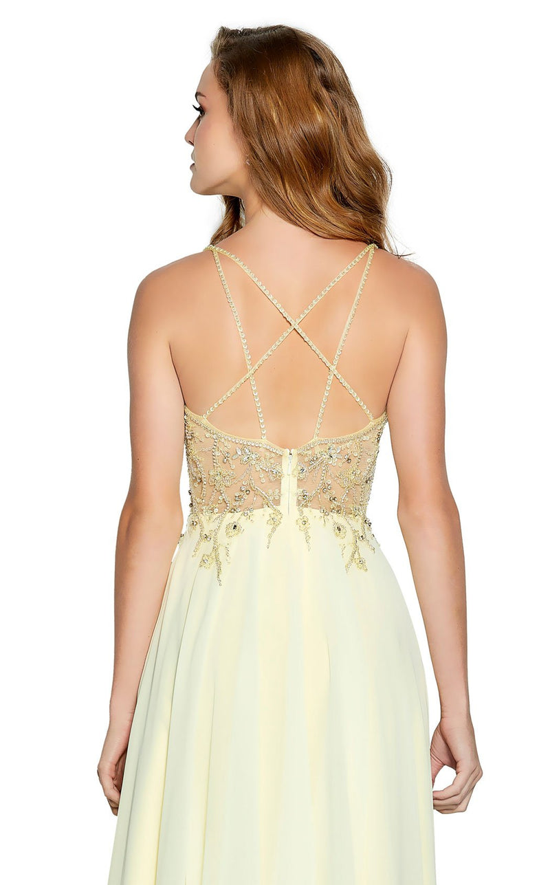 Amarra 20709 Dress Soft-Yellow