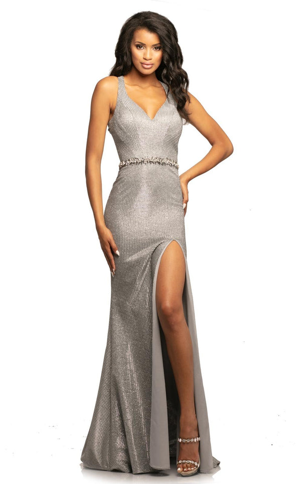 Johnathan Kayne 2071 Dress Silver