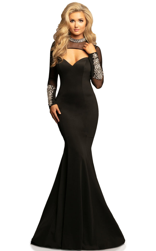 Johnathan Kayne 2082 Dress Black