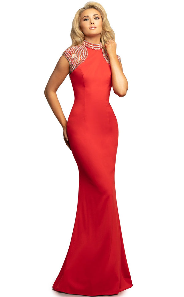 Johnathan Kayne 2089 Dress Red