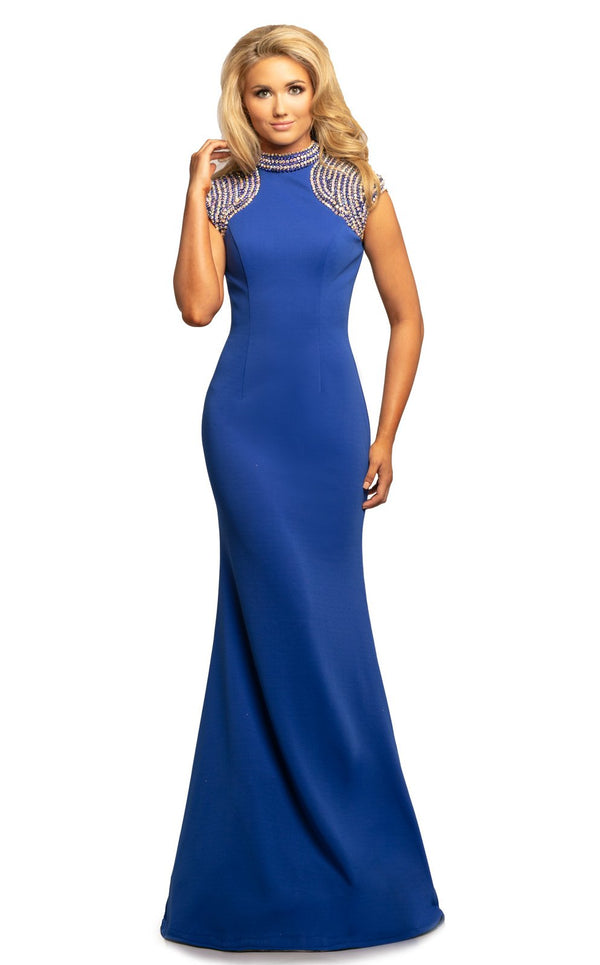 Johnathan Kayne 2089 Dress Royal