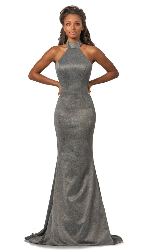 Johnathan Kayne 2096 Dress Heather-Grey