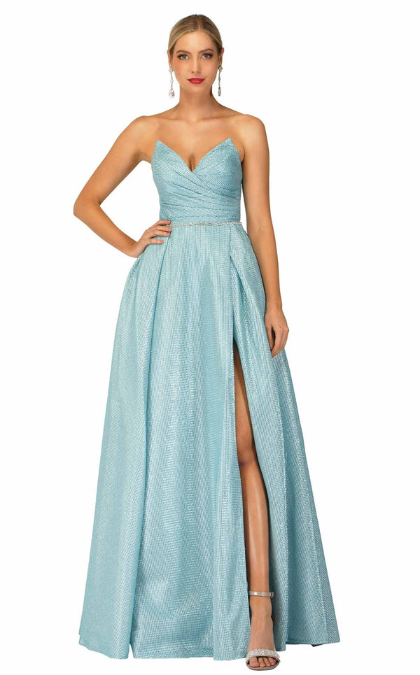 Cecilia Couture 2104 Sky-Blue