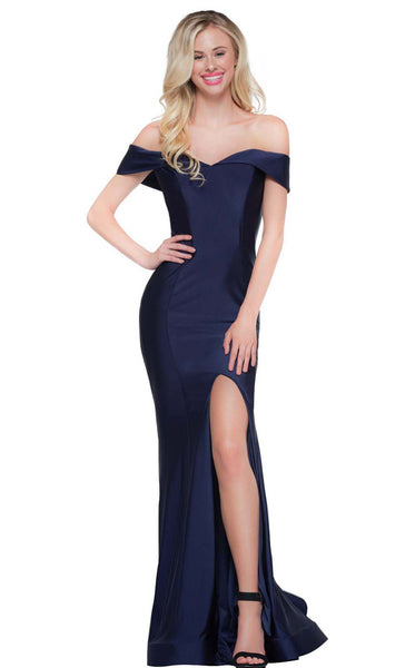 Colors Dress 2107 Navy