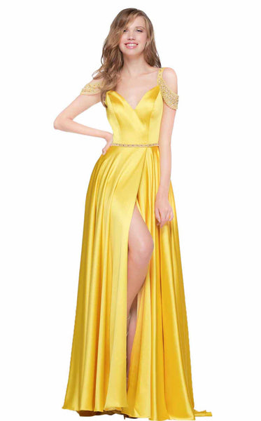 Colors Dress 2109 Yellow