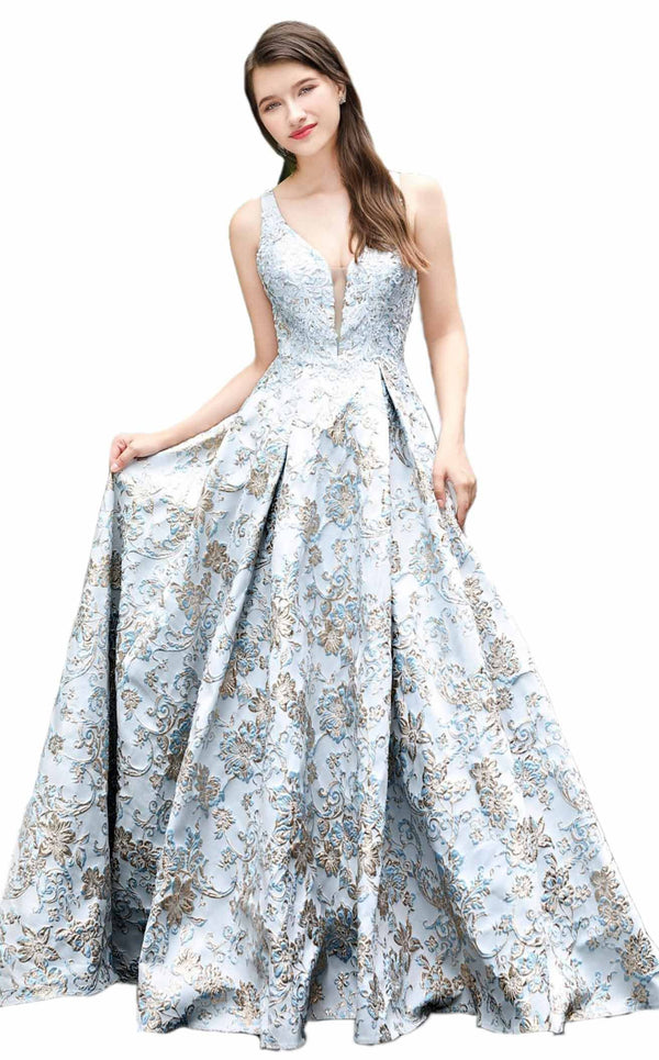 Cecilia Couture 2112 Ice-Blue