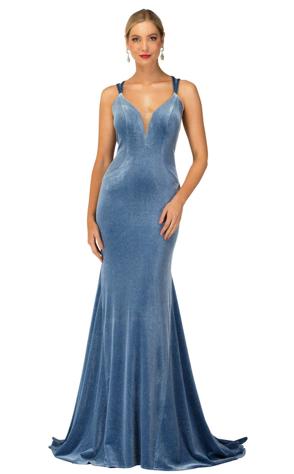 Cecilia Couture 2114 Dusty-Blue