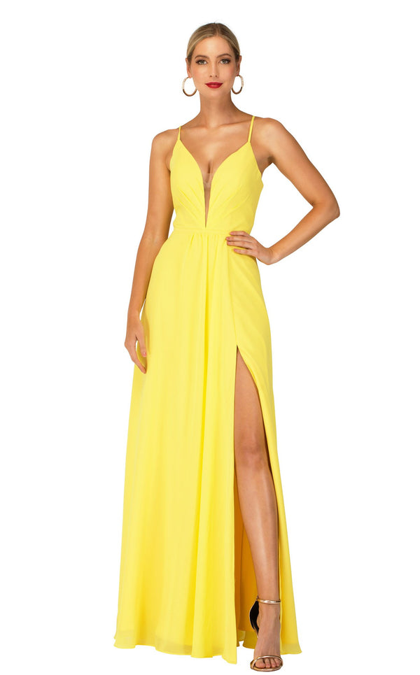 Cecilia Couture 2123 Yellow