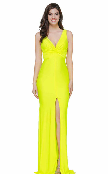 Colors Dress 2138 Lemon