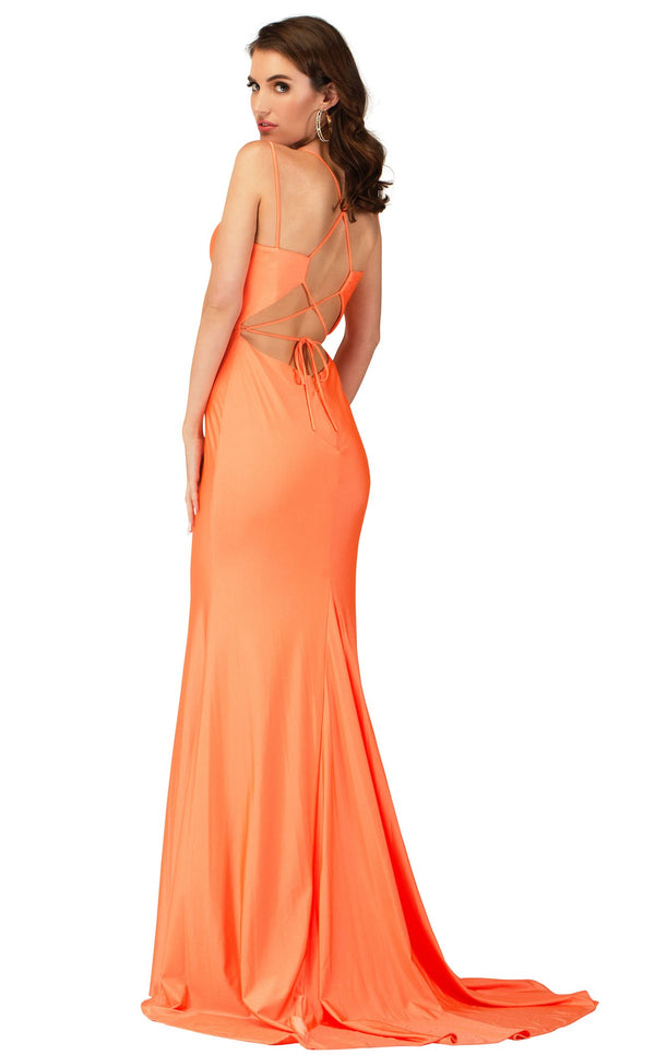 Cecilia Couture 2139 Orange
