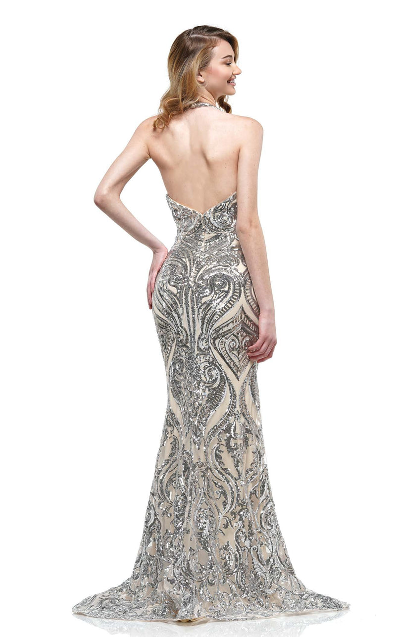 Colors Dress 2141 Dress Silver