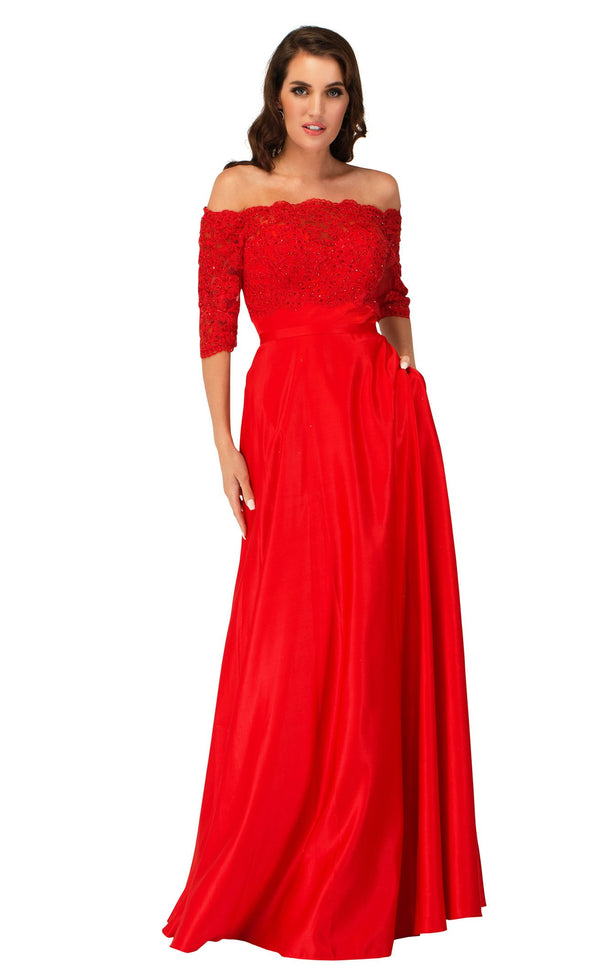Cecilia Couture 2143 Red