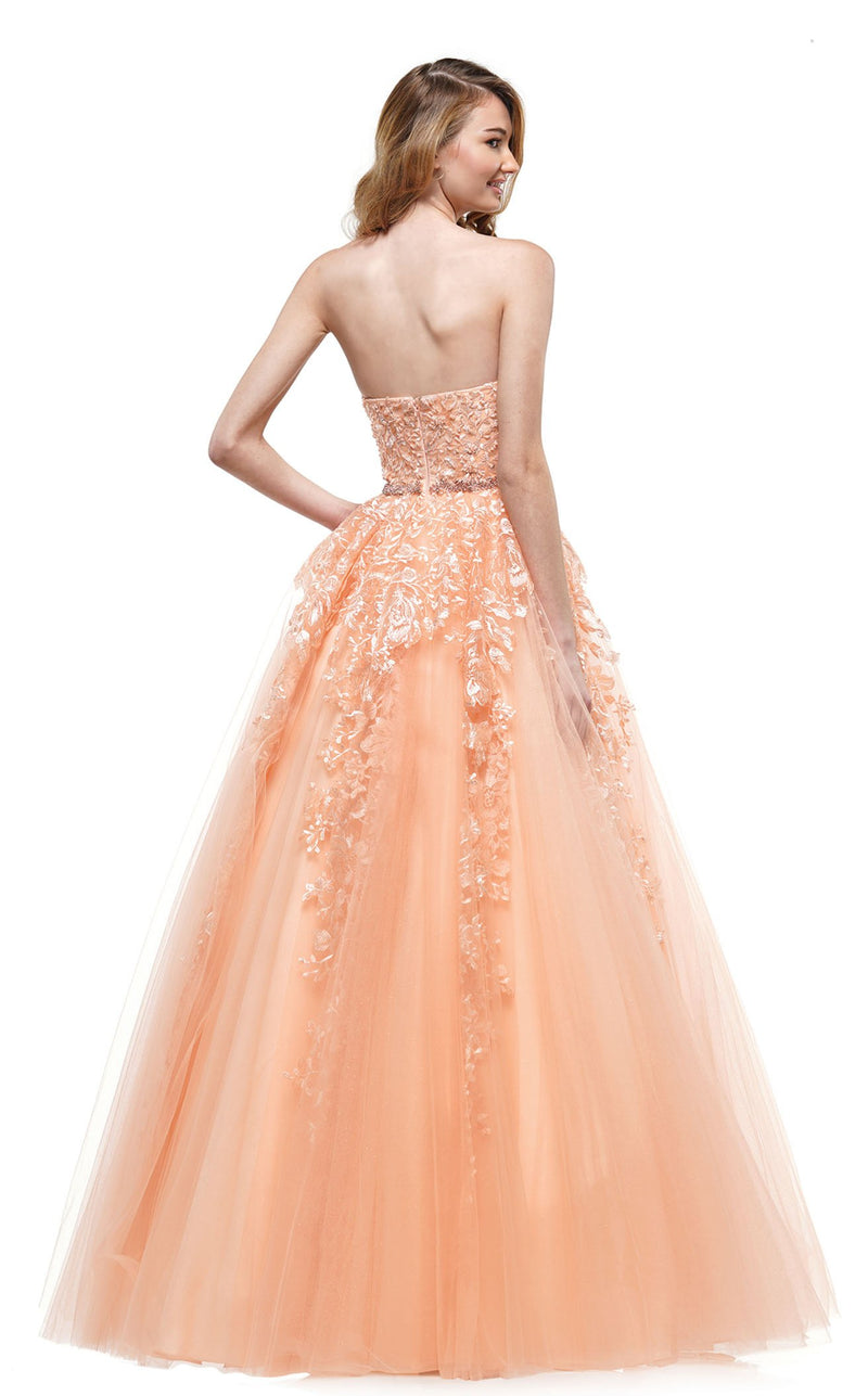 Colors Dress 2154 Dress Apricot