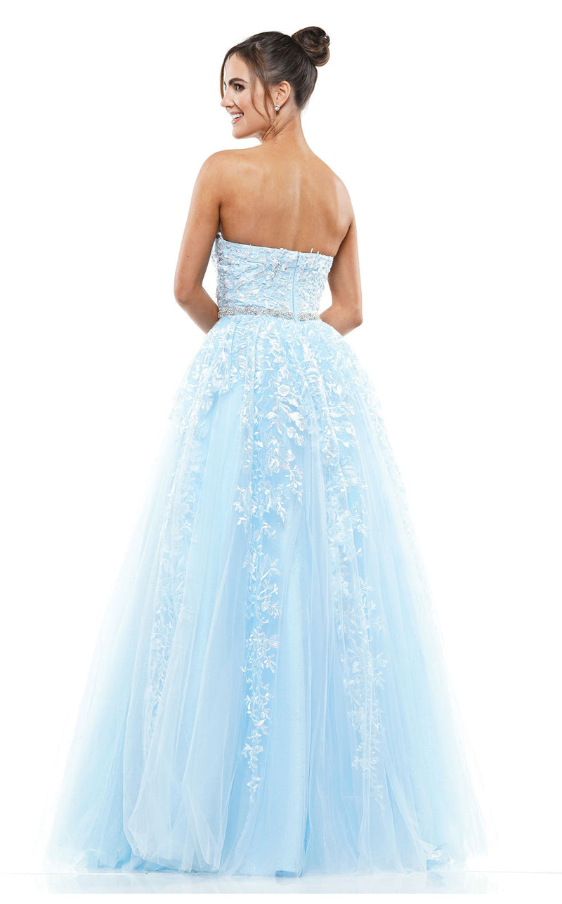 Colors Dress 2154 Dress Baby-Blue