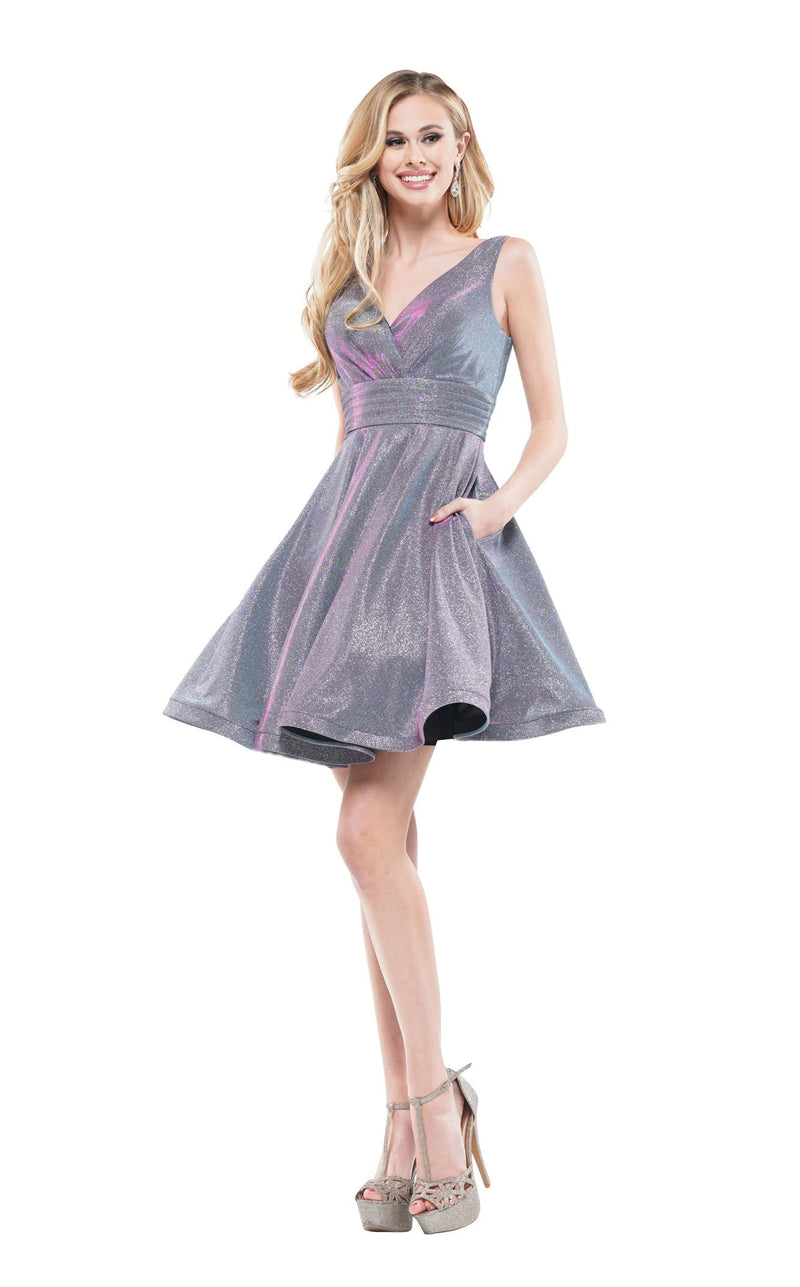 Colors Dress 2160 Dress Lilac-Multi