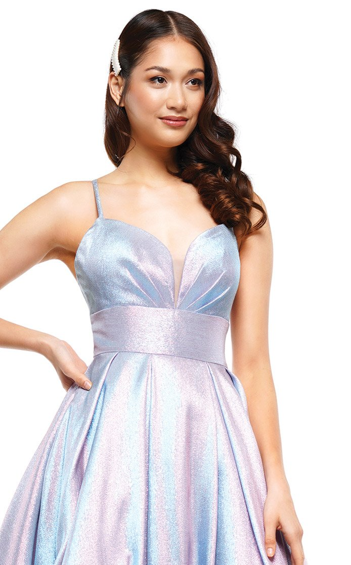 Colors Dress 2164 Dress Aqua-Pink