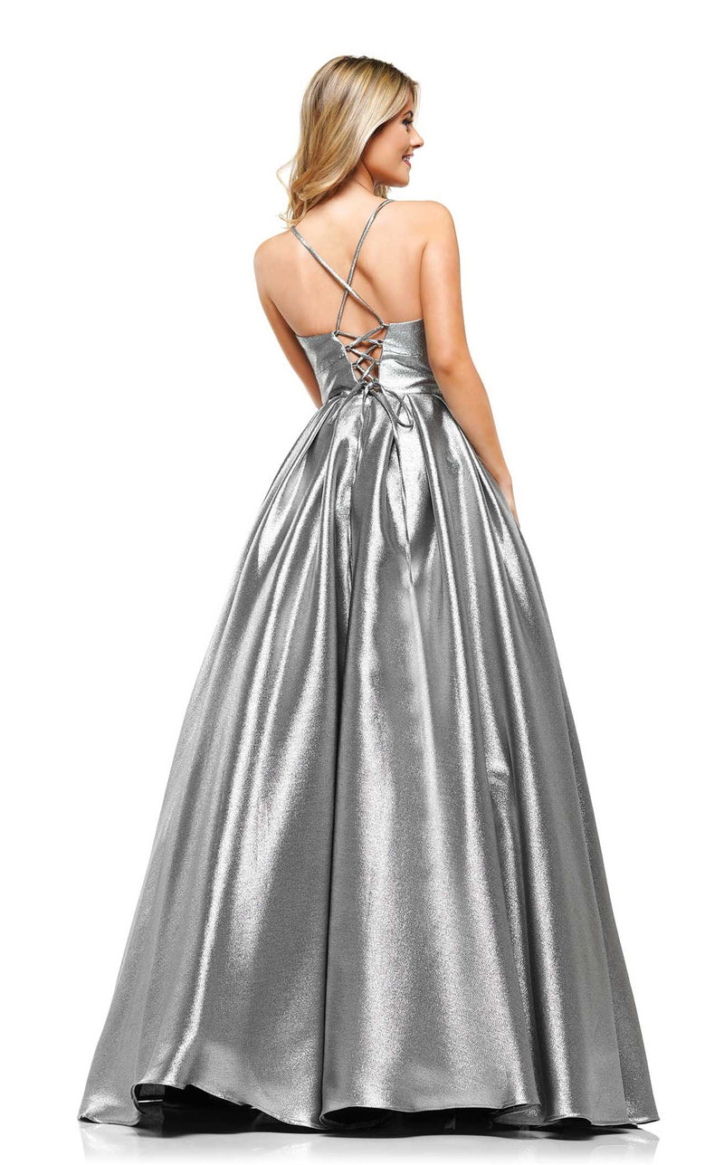 Colors Dress 2164 Dress Silver-Black