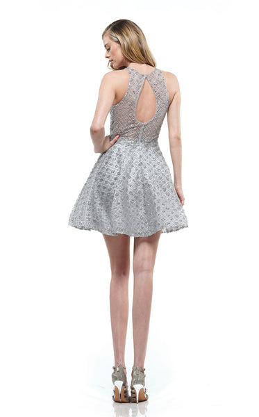 Colors Dress 2167 Dress Silver