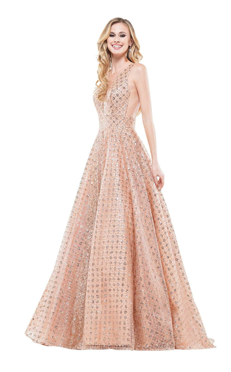 Colors Dress 2170 Dress Rose-Gold