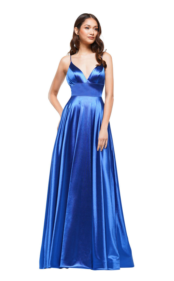 Colors Dress 2184 Dress Royal