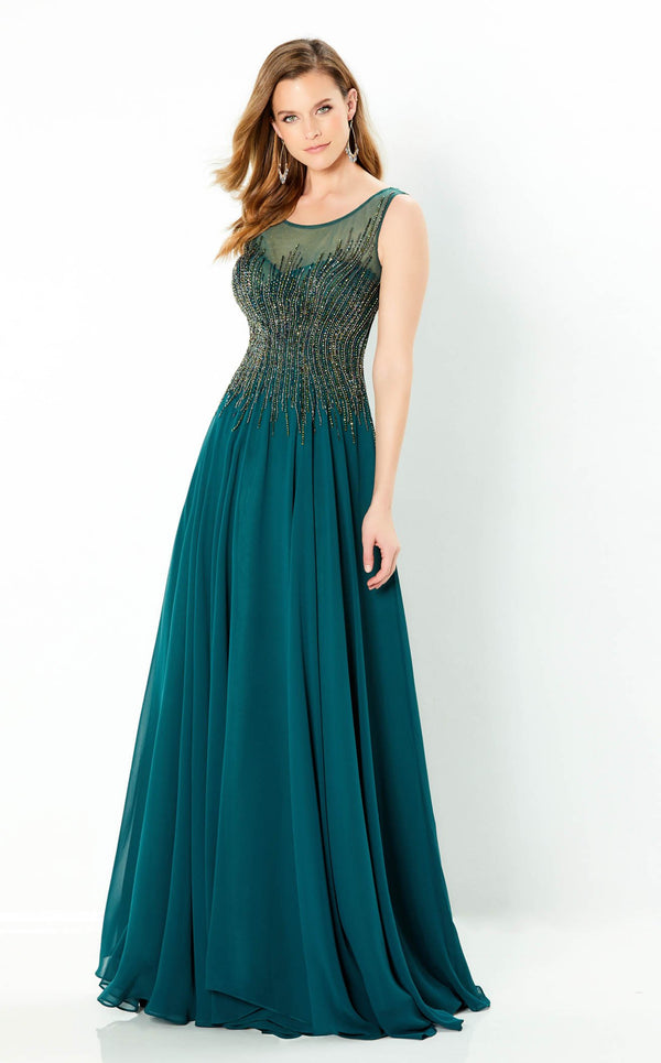 Montage 220939 Dress Dark-Green