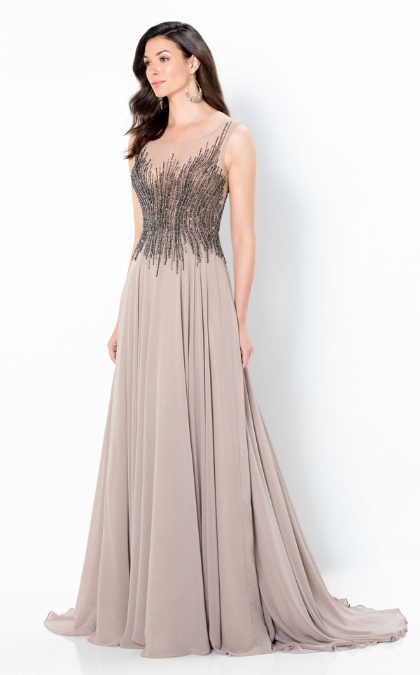 Montage 220939 Dress Taupe