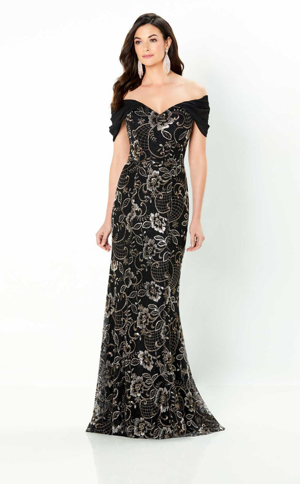 Montage 220945 Dress Black-Bronze