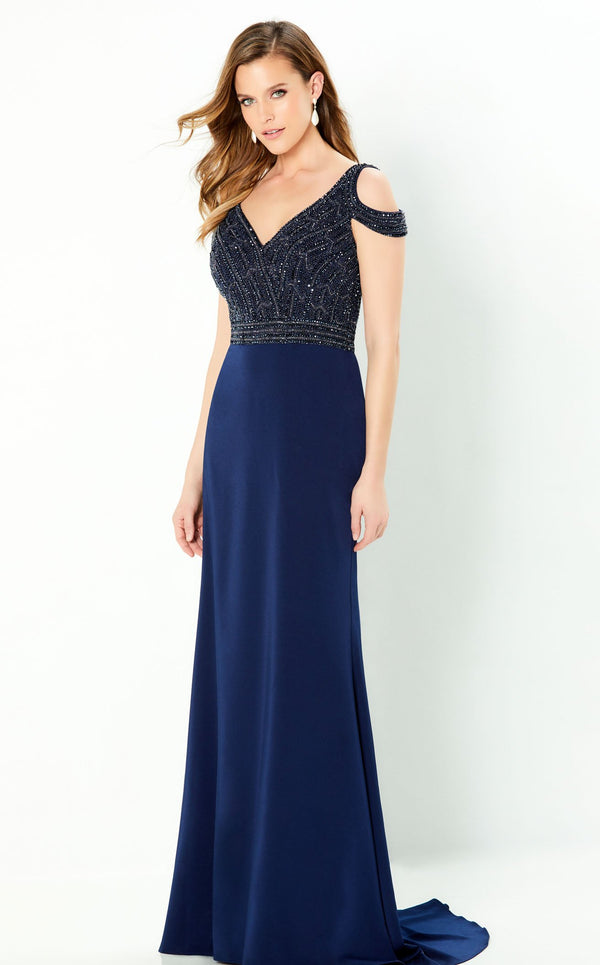 Montage 220951 Dress Navy-Blue
