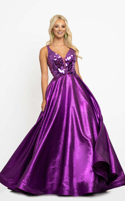 Johnathan Kayne 2217 Dress Magenta