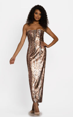 Johnathan Kayne 2243 Dress Bronze