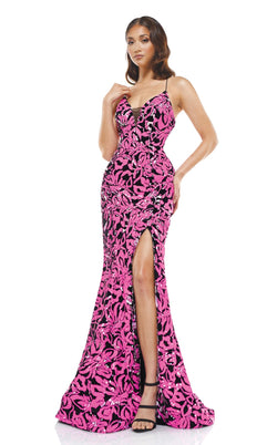Colors Dress 2277 Dress Hot-Pink